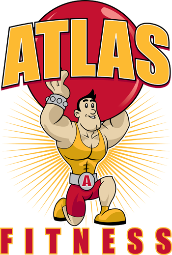 Cartoon Fitness Logo