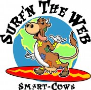 Cartoon Cow Logo