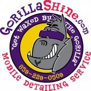 Cartoon Gorilla Logo